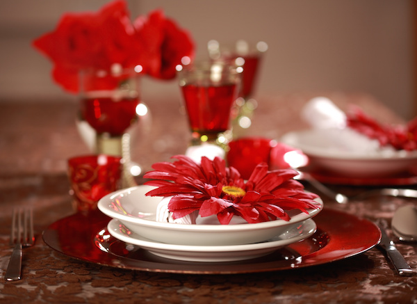 Luxury place setting